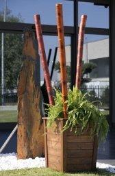 fioriera legno Ab style