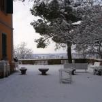 Spalare la neve da terrazzi e giardini- sapete come fare?