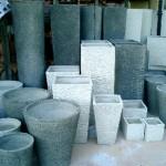 Vasi da giardino cemento