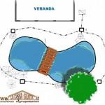 Progetto di laghetto per giardino