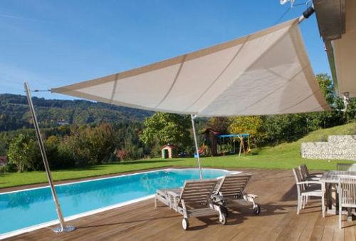Tenda A Vela Per Terrazzo : Vivere all aperto l ombra in giardino e in terrazza