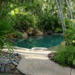Esempio di giardino acquatico