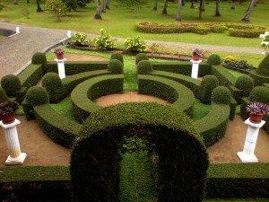 giardino schematico all'italiana